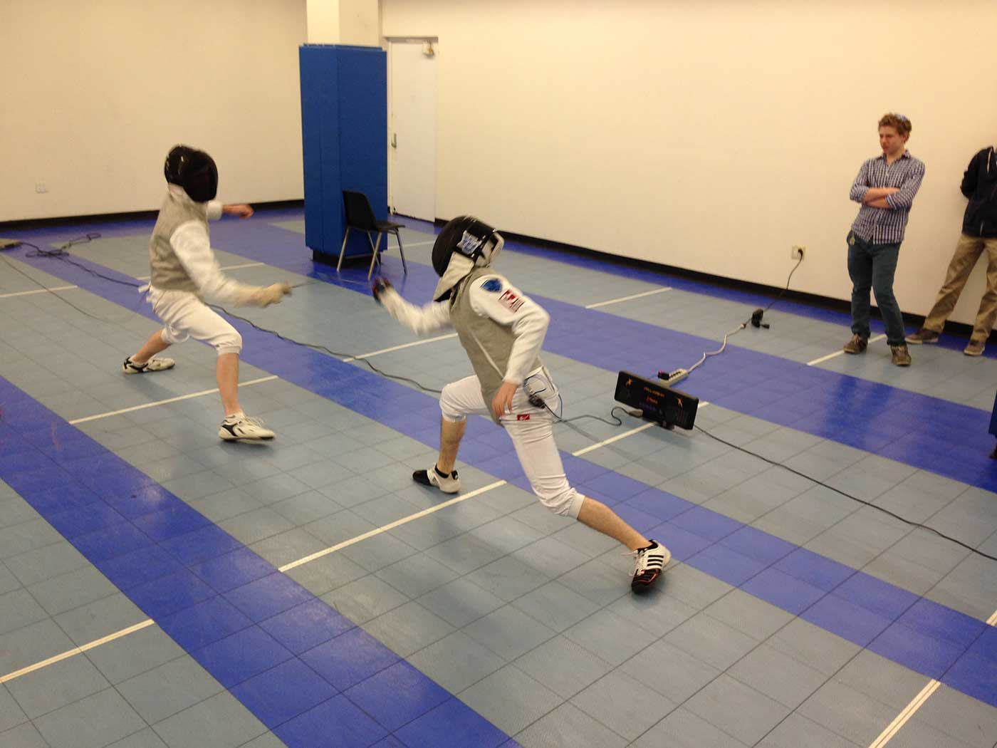 Fencing-action-